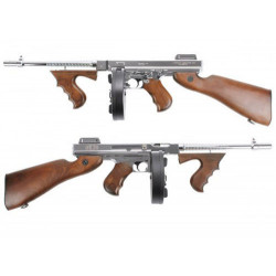 King Arms Thompson M1928 Chicago Grand Special - Silver