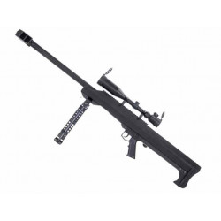 Snow Wolf M99 / SW-01A Full Metal Spring Sniper Rifle with Scope ( BK )