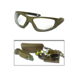 TACTICAL GOGGLE 3IN1 OLIVE