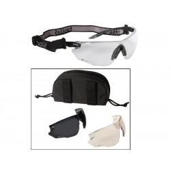 Tactical Goggles Bolle  COMBAT - 3x glass