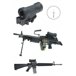 ELKEN 4X Tactical Rifle Scope