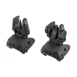 C.M. FABD Flip Up Sights Set ( BK )
