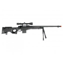 MB4403D + scope and bipod - black