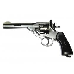 Webley - WG MKVI Service CO2 Revolver - stříbrný