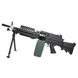 M249 - MK46 s výsuvnou pažbou