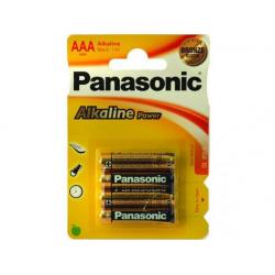 Baterie Panasonic 1,5V AAA - Alkalická