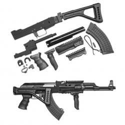 AK Tactical Conversion Kit (Folding Stock)(Black)