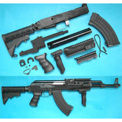 AK Tactical Conversion Kit (Extended Stock)(Black)