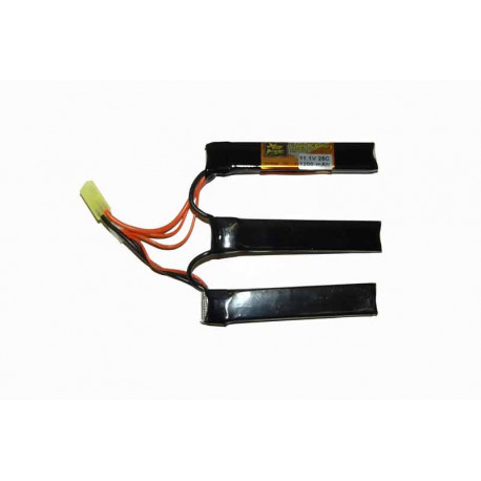 Battery XCell 11.1V / 1200mAh 25-50C Li-Pol three-piece