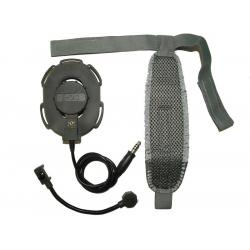 Taktický headset Elite III, olivový