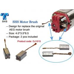 SHS Spare Carbon Brushes for Motor 2pcs/set