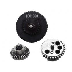 Low Noise Gear Set 300% (100:300) - bevel teeth