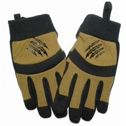 Armored Claw Shooter Tactical Gloves - TAN, SIZE XL