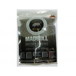 Airsoft MadBull Ultimate Heavy BBs 0,43g 4000pcs - gray