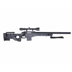 L96 AWP(S) MB4401D + scope and bipod - Black