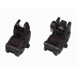 Mechanical RIS sights MBUS - BLACK, kopy