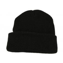Čepice pletená POLYACRYL - černá