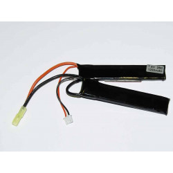 Battery XCell 7,4V / 1200mAh 25/50C Li-Pol Two-piece