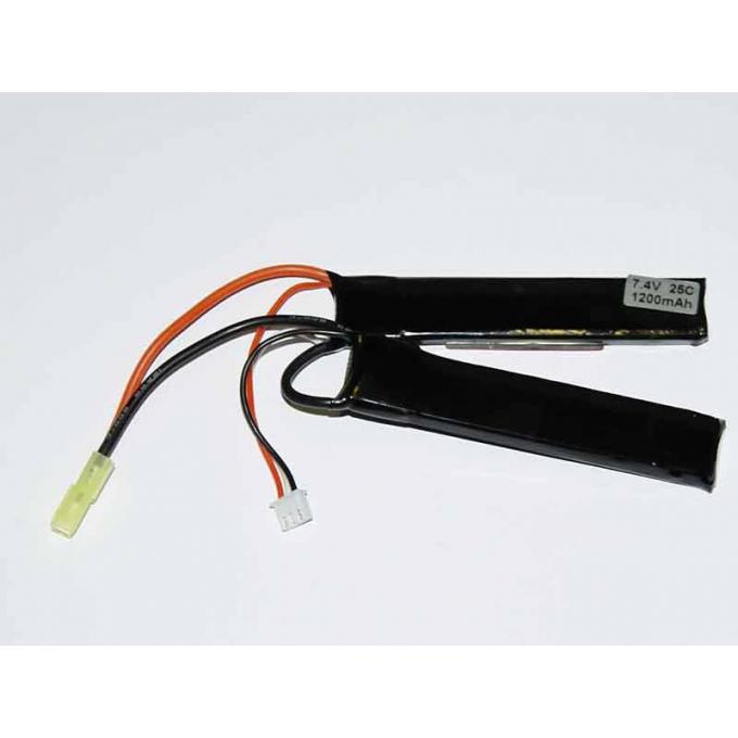 Baterie XCell 7,4V / 1200mAh 25/50C Li-Pol dvojdílná