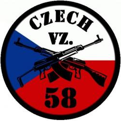 Patch CZ VZ58, small