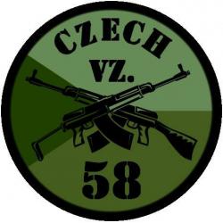 Patch CZ VZ58, OD, small