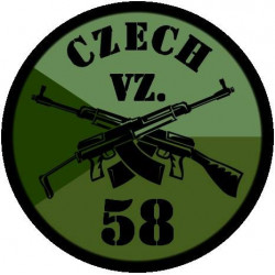 Patch CZ VZ58, OD, large