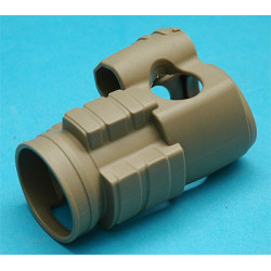 G&P Military Type 30mm Red Dot Sight Cover ( Sand )