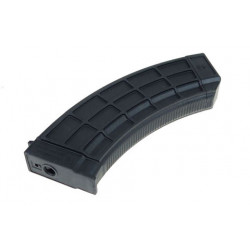 M.P PTS x US PALM (R) AK30 Style Mid-Capa for AK AEG ( Black / 150Rds )