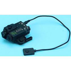 Compact NV a červené laserové ukazovátko, černé