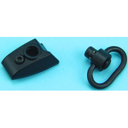 Keymod Sling Swivel Thumb Stop (Left Hand) (Black)