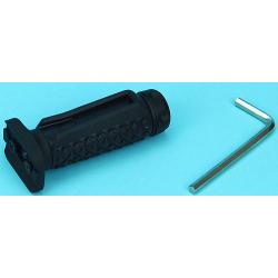 Keymod Rubber taktická rukojeť s prostorem pro spínač, černá