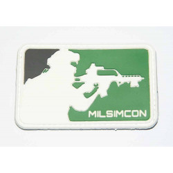 Patch PVC 3D MILSIMCON
