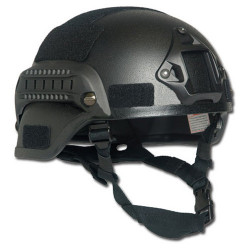 Helmet U.S. MICH 2000 Type Set BLACK