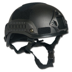 Helmet U.S. MICH 2001 Type Set BLACK
