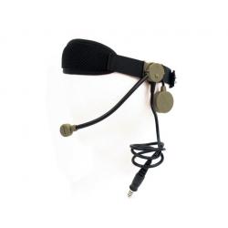 Taktický headset Zcobra, pískový