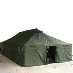Tent ARMY LARGE PE film OLIVE