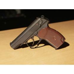 KSC Makarov MKV PM Full Metal Gas Blowback Pistol ( System 7 )