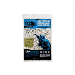 6mm 0,20g Biodegradable Airsoft BBs (5000 rounds, Bag)