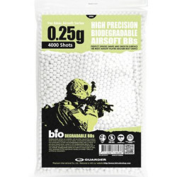 6mm 0,25g Biodegradable Airsoft BBs (4000 rounds, Bag)