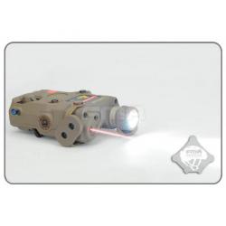 FMA AN-PEQ-15 Upgrade Version  LED White light with IR Lenses + Red laser - DE