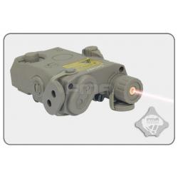 FMA PEQ 15 LA-5 Battery Case + red laser FG