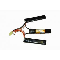 Baterie XCell 11,1V / 1000mAh 20-40C Li-Pol trojdílná