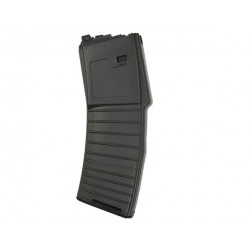 WE 30 Rds Magazine for M4 Open-Chamber GBBR ( Black ) - type KAC PDW