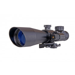 3-9x42 E tactical scope with RED laser