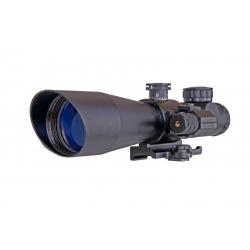 Optika 3-9x42 s červeným laserovým zaměřovačem