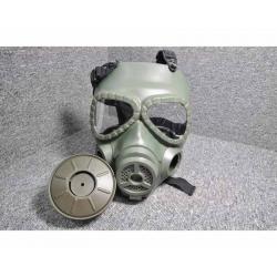 Toxic Maska s větrákem - olivová