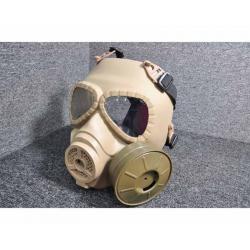 Toxic Maska s větrákem - písková
