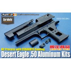 """Aluminum Slide & Frame for MARUI Desert Eagle .50 - Black - """"CERAKOTE COATING"""""""