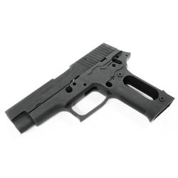 Aluminum Slide & Frame for MARUI P226 Navy (Black/None Marking)