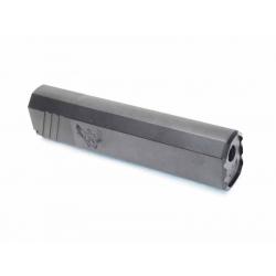 "Tlumič 7"" OPS Style Mock Suppressor, +14mm, černý"